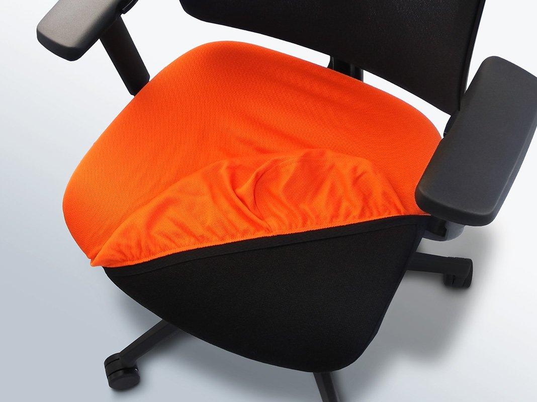 Bureaustoel hoes eenvoudig over de zitting heen trekken