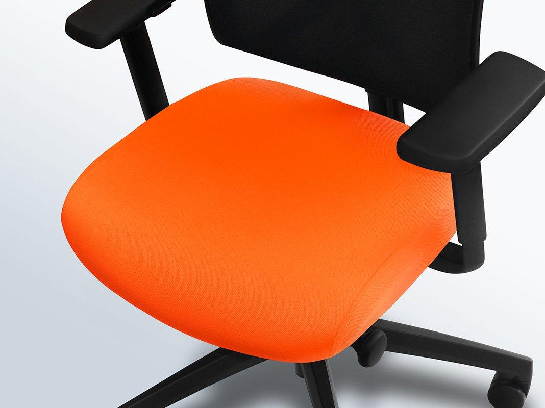 bureaustoel-hoes-oranje