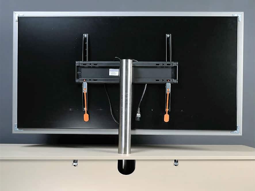 Tv Beugel Voor In Kast.Tv Paal Eenvoudige Montage En Compleet