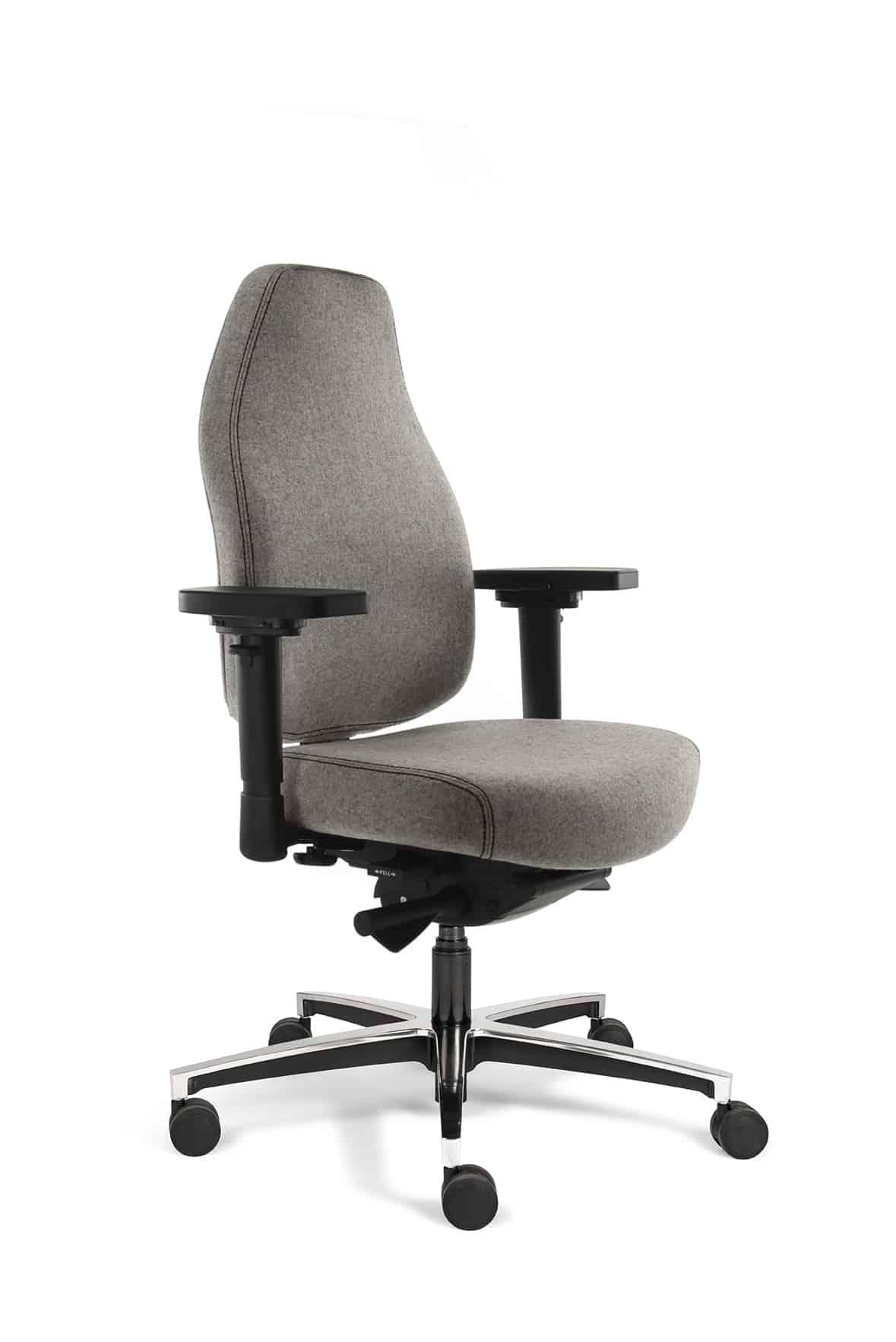 bureaustoel Teropode HR lichtgrijs