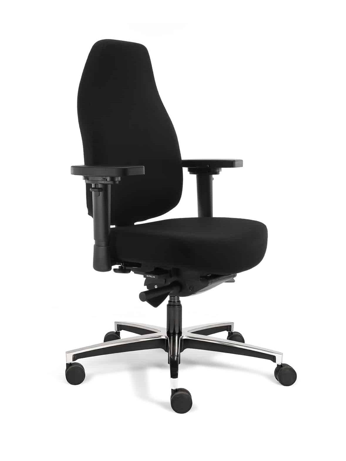 bureaustoel Teropode HR zwart